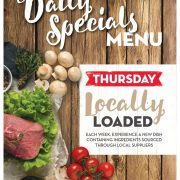 Thursday Daily Special - Locally Loaded